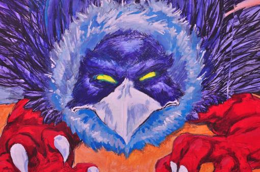 Morgu-bird-mural