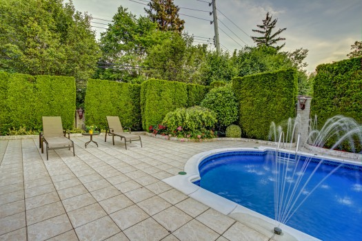 Well landscaped outdoor area increases your living square footage